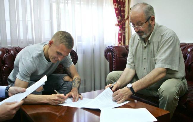 Виталий Буяльский подписал новый договор скиевским «Динамо»