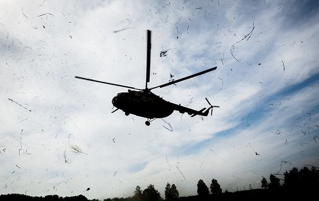 Фото: вертолет (president.gov.ua)
