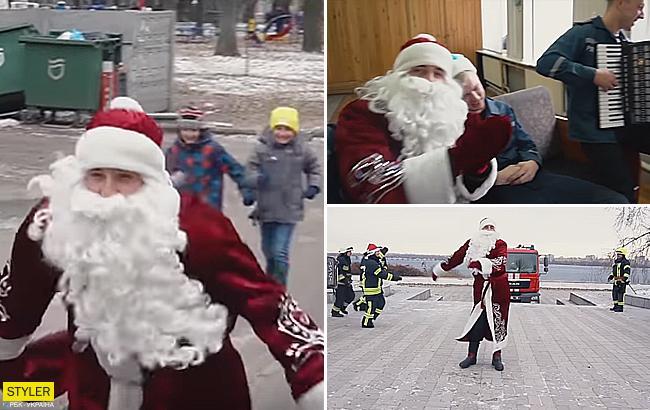 Взорвали сеть: украинские пожарные сняли веселый новогодний клип