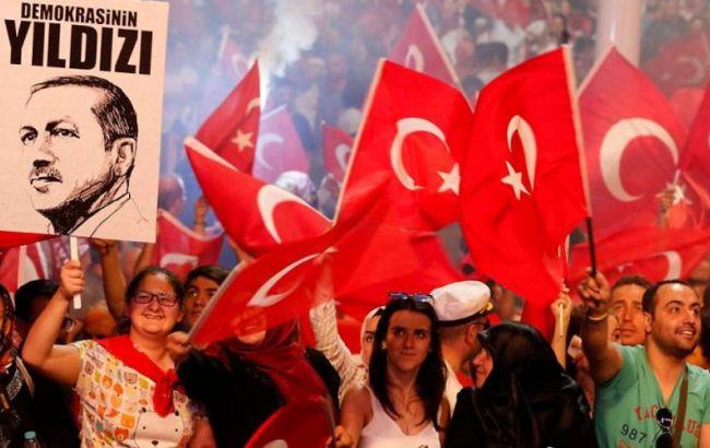 Фото: у Кельні відбулася акція на підтримку Ердогана