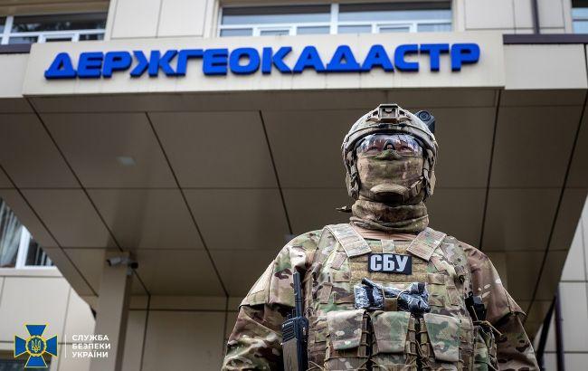 СБУ разоблачила чиновников, похитивших десятки тысяч гектаров государственных земель
