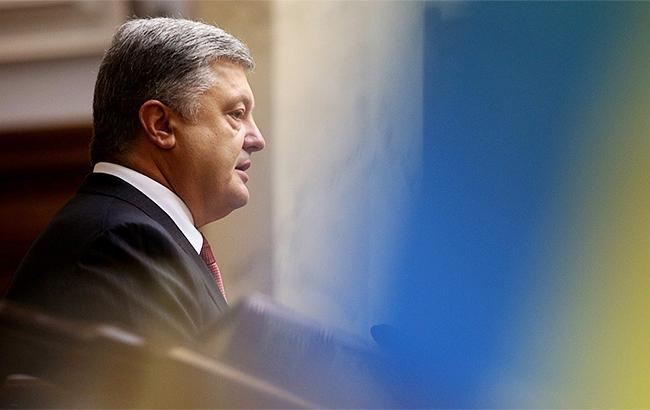 Порошенко закликавВР терміново почати розробку законопроекту про Антикорупційний суд
