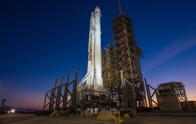 Погода дозволяє: NASA оцінило шанси запуску ракети SpaceX