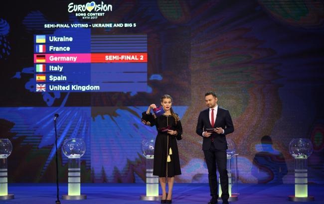 Определился порядок выступлений участников в полуфиналах Евровидения 2017
