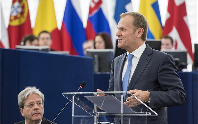 Фото: Дональд Туск (flickr.com/european_parliament)
