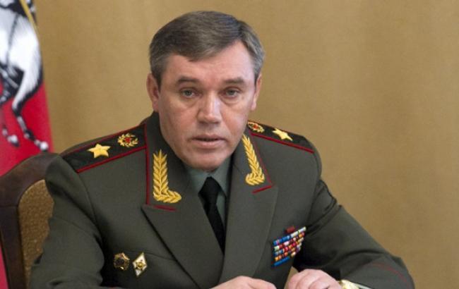 Начальник Генерального штабу ЗС Росії Валерій Герасимов