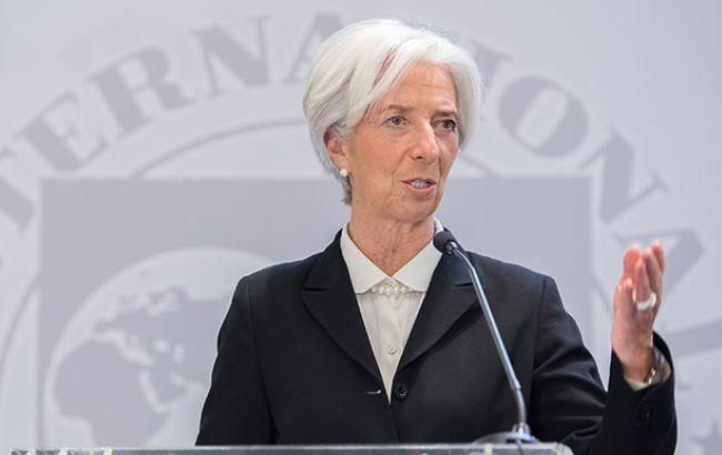 Фото: Крістін Лагард (IMF.org)