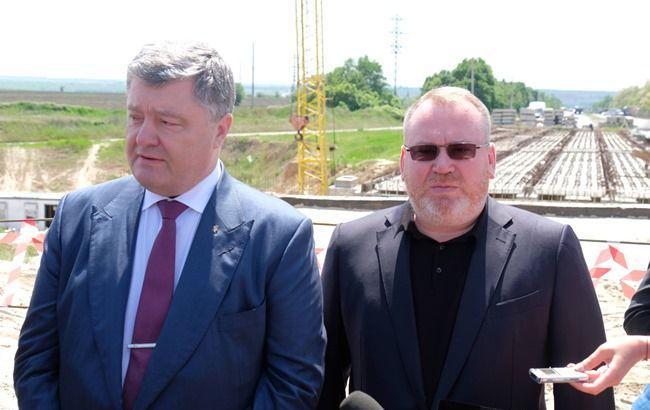 Фото: Петро Порошенко і Валентин Резніченко (прес-служба)