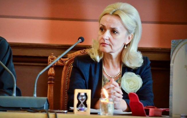 Ирина Фарион возмутилась из-за языка в тесте ВНО