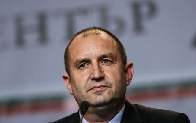 Фото: кандидат в президенти Болгарії Румен Радев