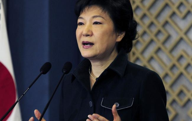 Фото: президент Південної Кореї Пак Кин Хе