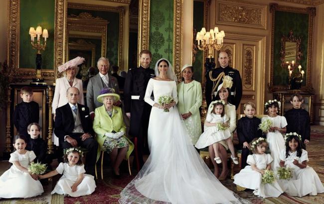 Фото: Весілля принца Гаррі і Меган Маркл (instagram.com-theroyalfamily)