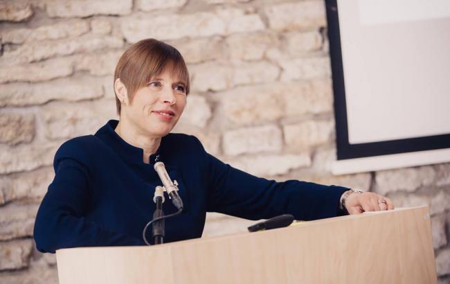 Президент Эстонии посетит НАБУ