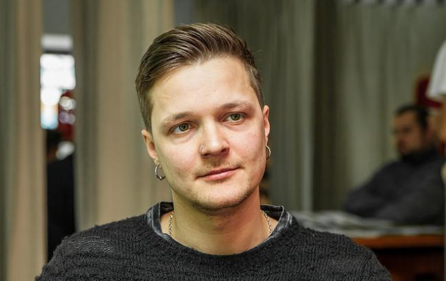 Фото: Лідер гурту O.Torvald (РБК-Україна)