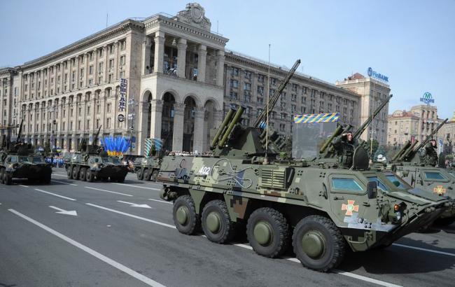Фото: Украина поднялась в рейтинге милитаризации
