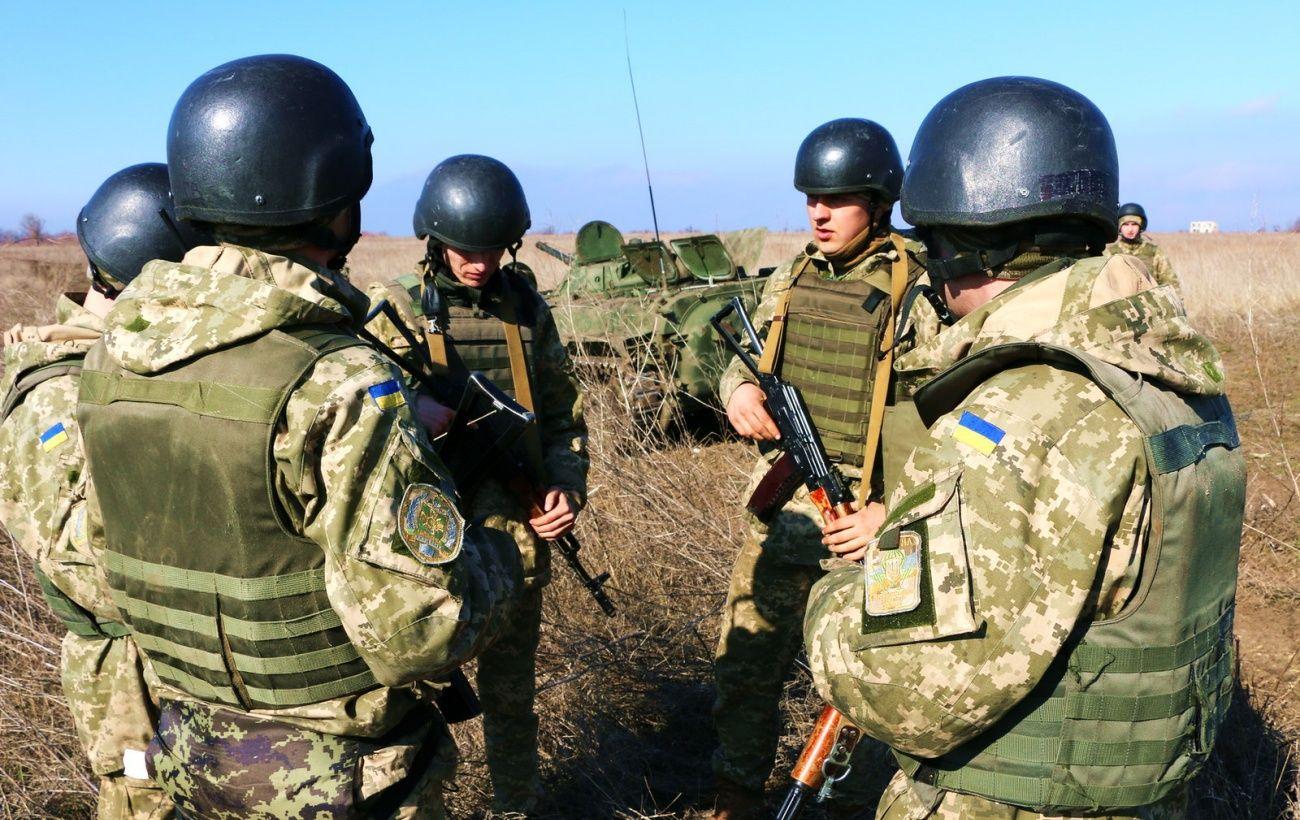 Обострение на Донбассе: пятерых военных ранили