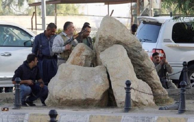 Фото: іракські сили безпеки в Кіркуку