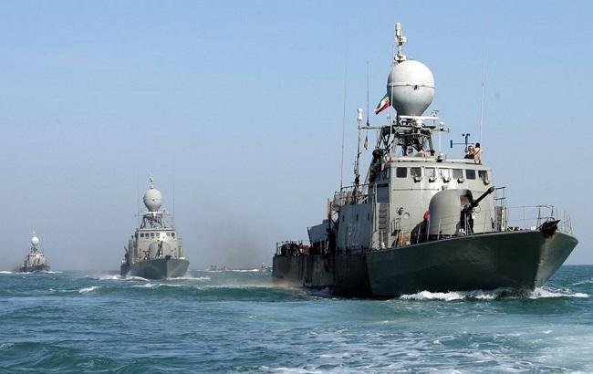 Фото: военные корабли Ирана (wartime.org.ua)