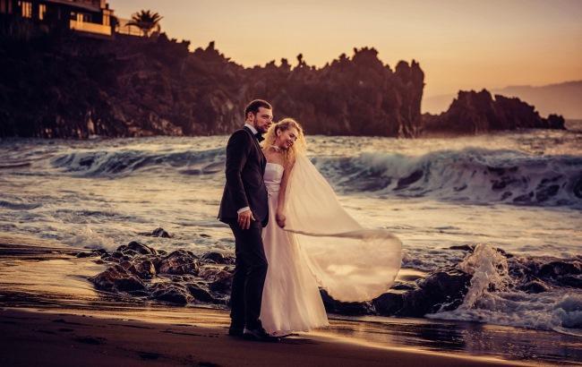 """""""Весілля моєї мрії"""": відома українська дизайнер вийшла заміж на Канарських островах (фото)"""