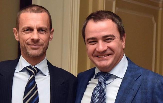 Павелко предложили должность члена дисциплинарного комитета ФИФА