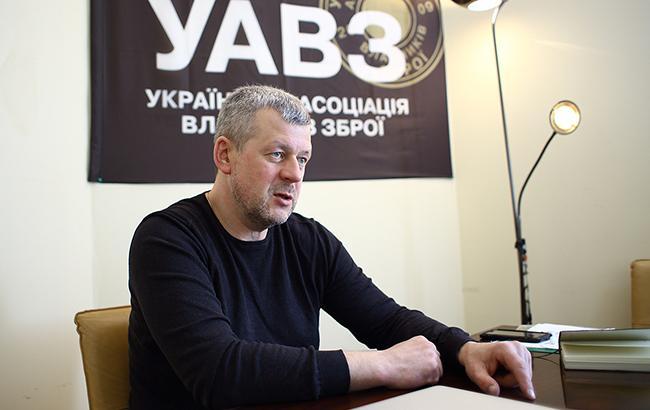 Георгій Учайкін пропонує викуповувати державі гранати, вибухівку і гранатомети у громадян