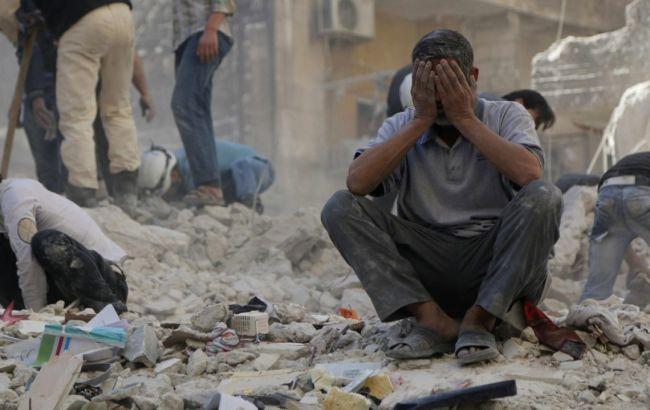 Фото: военные действия в Сирии
