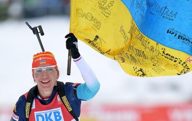 Украинская биатлонистка поразила российского комментатора