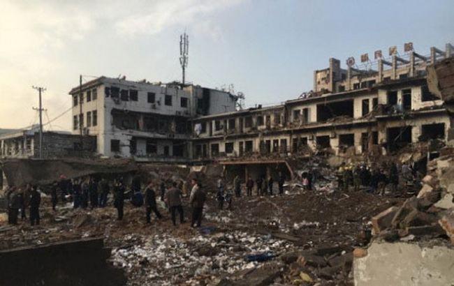 У Китаї стався потужний вибух, є жертви і поранені