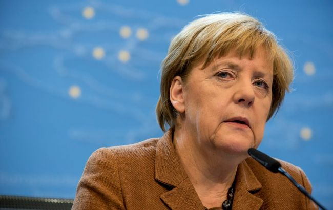 Фото: канцлер Германии Ангела Меркель против вступления Турции в ЕС