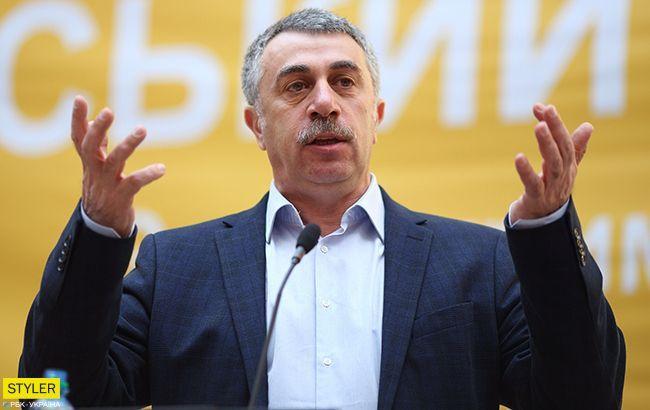 Комаровський поділився з українцями секретом щастя