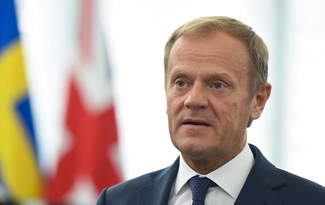 Туск заявив, що ЄС ніколи не визнає анексію Криму