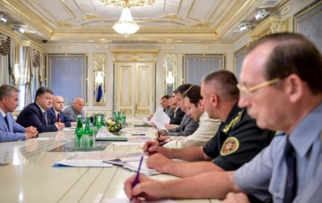 Порошенко уволил глав Тернопольской, Ровенской и Полтавской ОГА