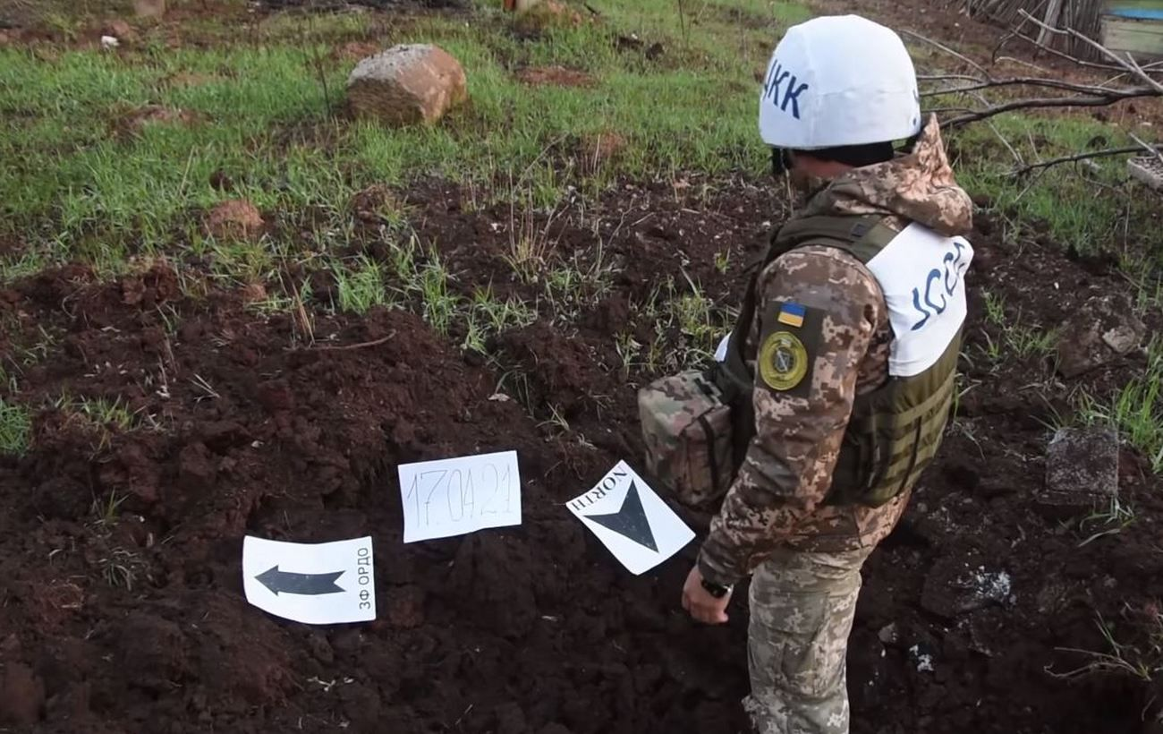 Боевики на Донбассе обстреляли из минометов жилой сектор