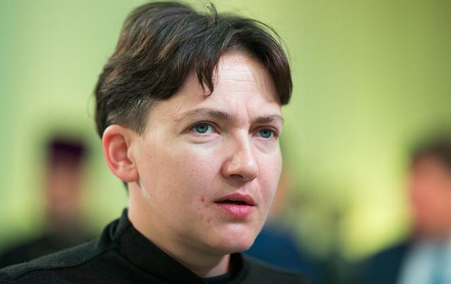 Савченко розповіла про роботу всексі потелефону