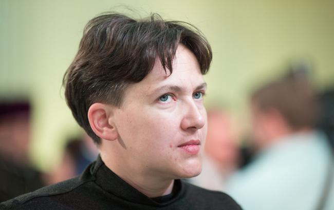 Не 17 тысяч: Савченко рассекретила свою зарплату