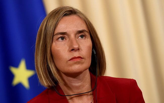 ЕС предпримет конкретные меры по ситуации в Азовском море, - Могерини