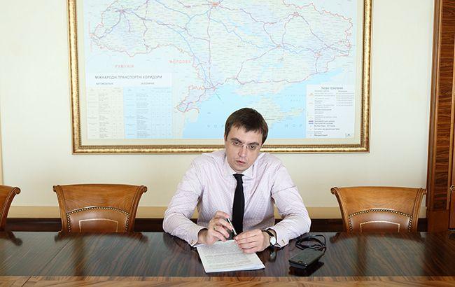 Фото: Міністр інфраструктури України Володимир Омелян (РБК-Україна)