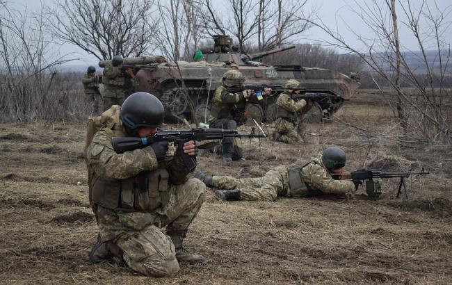 """У мережі показали, як опорний пункт бойовиків знищила """"третя сила"""""""