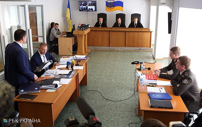 Фото: суд над Януковичем (Виталий Носач/РБК-Украина)