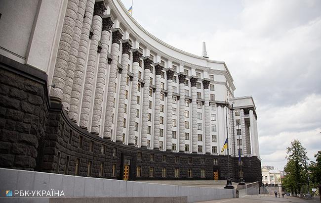 Фото: будівля Кабміну (РБК-Україна)