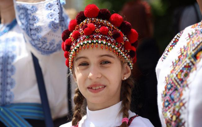 Фото: Маленькая украинка РБК-Украина)