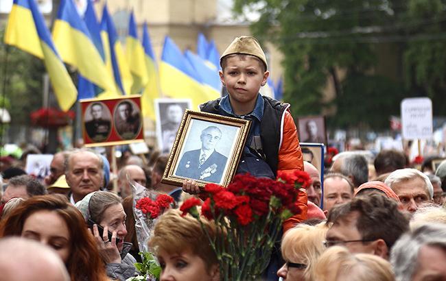 як в Києві відзначили 9 травня