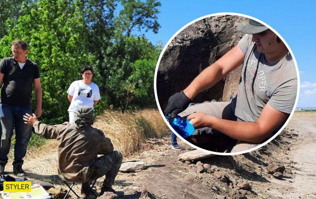 Археологи знайшли під Кропивницьким поховання, яким 3 і 5 тисяч років