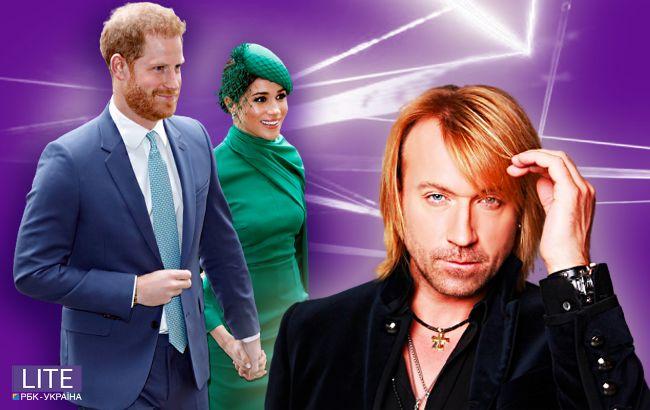Олег Винник йде в політику, Меган Маркл і принц Гаррі більше не герцоги: топ гучних новин тижня