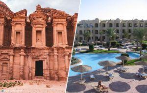 Египет или Иордания: сравниваем особенности отдыха в курортных странах