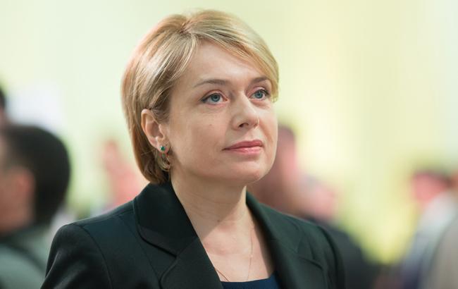 Гриневич попросила заложить в госбюджет-2018 еще 400 млн гривен на образование