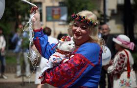Фото: У вишиванці (РБК-Україна)