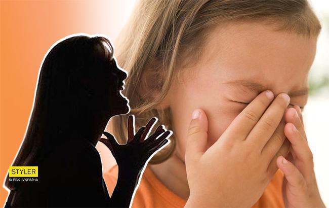 Побила і кинула: у Донецькій області горе-матір знущалася над чотирирічною донькою