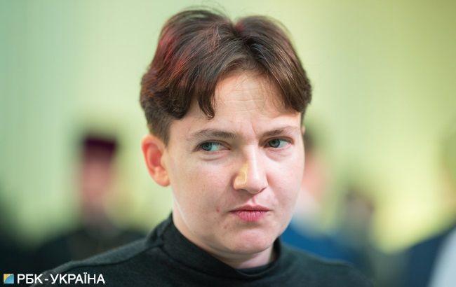 Савченко снова отличилась странным поведением (видео)