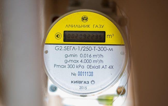 В Хмельницкой области учетом газа обеспечены 96% потребителей